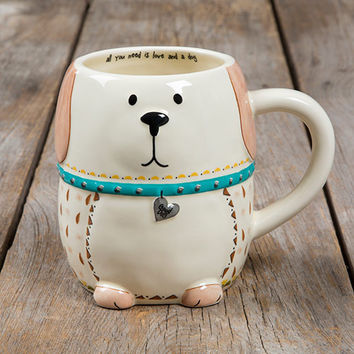 Folk Art Mug - Dog by Natural Life