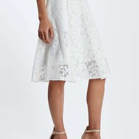 PETITE Mesh Floral Prom Skirt - New In This Week - New In