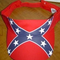 Battle Flag Visor Hat
