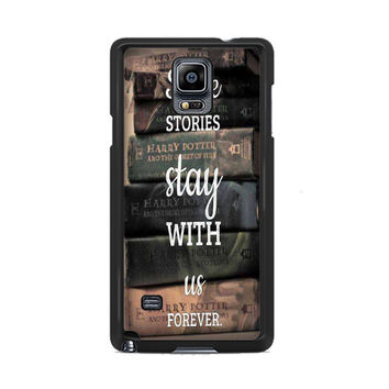 Harry Potter Book Samsung Galaxy Note 3 | 4 Cover Cases