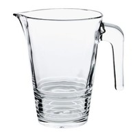 VÄNLIG Jug Clear glass 1 l - IKEA