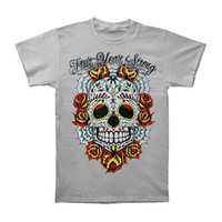 Four Year Strong Men's  Sugar Skull T-shirt Grey