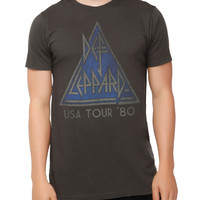 Def Leppard USA Tour '80 T-Shirt
