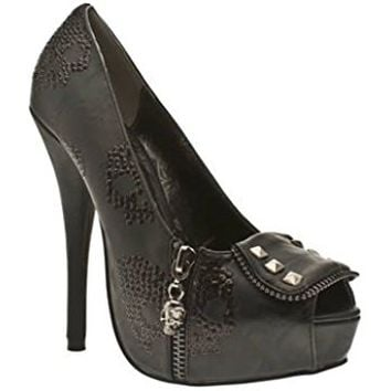 Ruff Rider Black New Womens Hi Heel Shoes