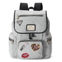 Juicy Couture Max Patchwork Backpack (Grey)