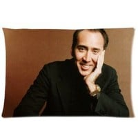 "Nicolas Cage Pillowcase Covers Standard Size 20""x30"" CC2610"
