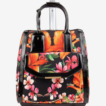 Tropical toucan travel bag - Black | Bags | Ted Baker UK