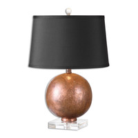Armel Oxidized Copper Accent Lamp by Uttermost