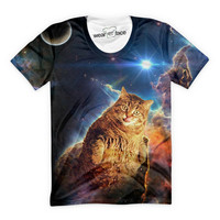 Fat Cat On A Mission T-Shirt
