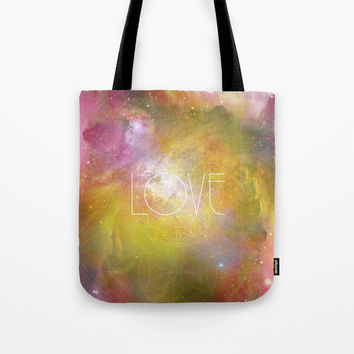 Love Tote Bag by Andreia Treptow Illustrations