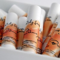 Creme Brulee Lip Balm by Body Language Soaps | BLSoaps - Bath & Beauty on ArtFire