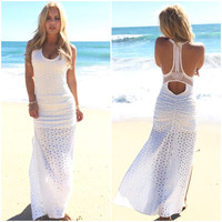 Story Maxi Dress In White By SKY