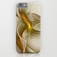 Abstract With Colors Of Precious Metals, Fractal Art iPhone & iPod Case by Gabiw Art