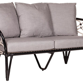 "St. Tropez 62"" Outdoor Loveseat 