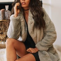 SAGE THE LABEL - LUCY IN THE SKY FUR JACKET
