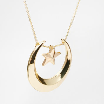Stylish New Arrival Shiny Gift Jewelry Ladies Strong Character Fashion Set Gold Sweater Chain Necklace [4956847172]