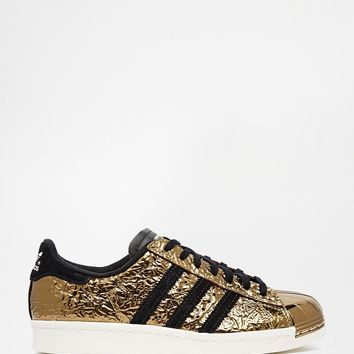 Adidas Originals Superstar Gold 80's Metal Toe Trainers