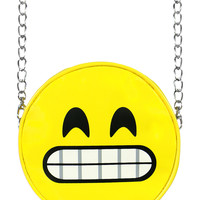 SMILEY EMOJI CHAIN BAG