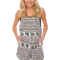 Elephants Never Forget Romper