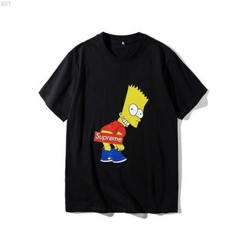 spbest Supreme X Simpsons #001 T-Shirt