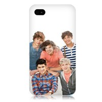 Ecell - ONE DIRECTION 1D BRITISH BOY BAND BACK CASE COVER FOR APPLE IPHONE 4 4S