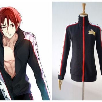 Free! - Iwatobi Swim Club Matsuoka Rin Cosplay Jacket Costume