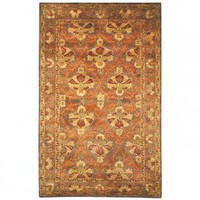 Safavieh Antiquities William Morris AT54B Sage / Gold Oriental Rug - AT54B - Green Rugs - Area Rugs by Color - Area Rugs