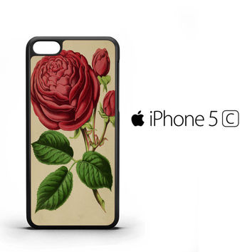 Vintage Rose A1341 iPhone 5C Case