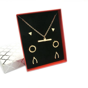 Shiny Jewelry Gift New Arrival Stylish Accessory Box Necklace [7807570561]