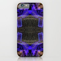 City Synthesis iPhone & iPod Case by RichCaspian