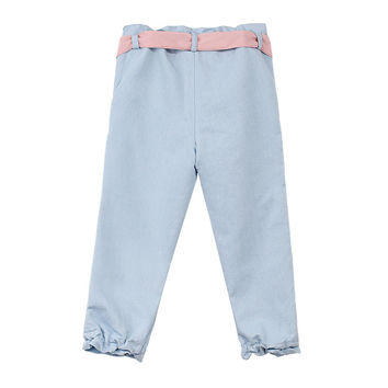 Lovely Lace Pink Waistband Casual Cool Jeans [4919893188]