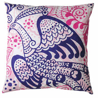 20 x 20 Bird of Paradise Pillow design by Koko Company