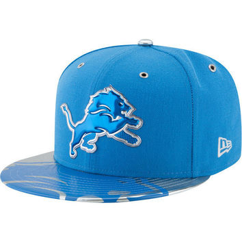 NFL Detroit Lions Blue 2017 NFL Draft Spotlight 59FIFTY Fitted Hat