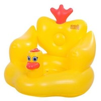 Little Yellow Duck Inflatable Bath Stool Sofa Chair