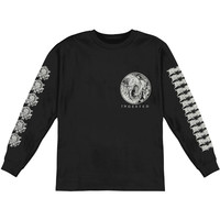 Ingested Men's  Slam Butchers  Long Sleeve Black Rockabilia