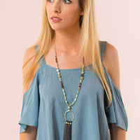 Lewis & Clark Top in Blue