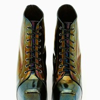 Jeffrey Campbell Lita Platform Boot - Oil Slick