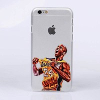 DCKL9 Sport NBA basketball player star phone case hard back cover shell for iphone 7 plus 5