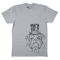 Winston - English Bulldog - Men's T-Shirt