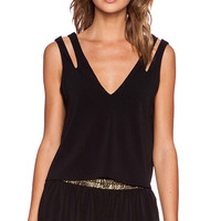 Erin Kleinberg The Heaux II Tank in Black