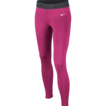 Nike Girls' Pro Combat Hyperwarm Compression Tights 2.0
