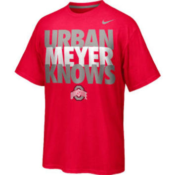 Nike NCAA Men's Urban Meyer Knows T-Shirt