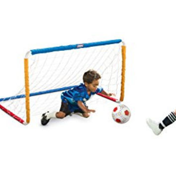 Little Tikes Easy Score Soccer Set, Primary Colors