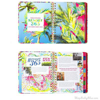 Lilly Pulitzer 17 Month Large Agenda Tusk In Sun