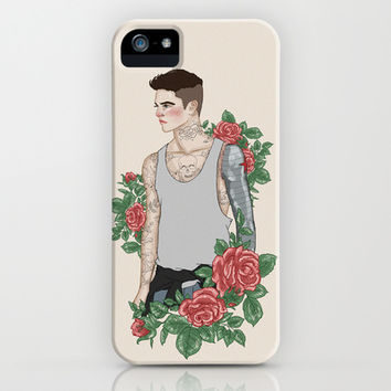 Punk Bucky Barnes iPhone & iPod Case by vulcains | Society6