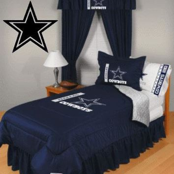 Dallas Cowboys Star wall decals vinyl stickers home decor living room wall pictures bedroom wallpaper kids room decoration