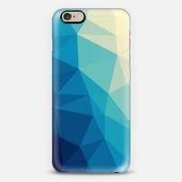 Geometric Polygonal Abstract Geometry 033 iPhone 6 case by Denis Marsili | Casetify