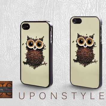 Phone Cases, iPhone 5 Case, iPhone 5s Case, iPhone 4 Case, iPhone 4s case, Owl, iPhone case, Case for iphone, Case No-267