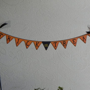 Fairy Garden Banner miniature accessories trick or treat halloween