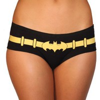 Batman Logo Glow in the Dark 3 Pack Hipster Briefs (Juniors X-Large)